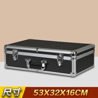 大号铝合金箱子手提工具箱设备仪器箱话筒相机收纳箱模型展示箱