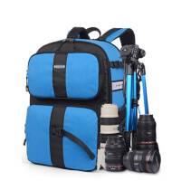 2015双肩摄影包大容量 防盗防水单反包索尼相机包双肩 佳能相机包户外运动摄像背包