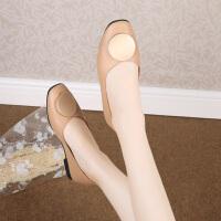 女鞋夏季新款时尚百搭浅口平底单鞋仙女风简约休闲奶奶鞋子潮
