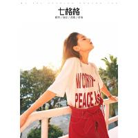 七格格字母白T恤女短袖夏装新款学生宽松ulzzang百搭韩系chic上衣夏