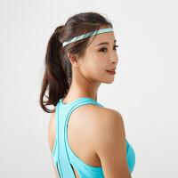 发带 瑜伽健身防滑发箍绑带吸汗运动导汗带细男女硅胶