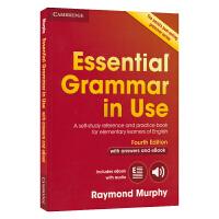 第四版 Cambridge Essential Grammar In Use 剑桥语法英文原版初级红宝书 含ebook