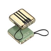 充电宝20000毫安自带线苹果华为专用超薄小巧便携1000000超大量kb6