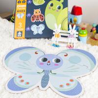 儿童拼图玩具宝宝纸质4岁男孩女孩0-1-2-3周岁