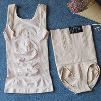 塑身衣收腹�套�b束腰塑形塑身上衣美�w束身收腹衣服分�w套�b M (90-115斤)