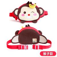 七夕�Y物小�x家�n版�和�小包包男女童腰包�r尚�和�公主斜跨包可�����小包 猴子款
