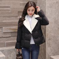 毛呢外套女韩版时尚百搭冬季新款女装矮个子短款外套冬