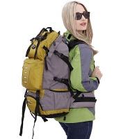 大容量双肩包男韩版多功能运动背包户外旅行包女休闲登山包50L