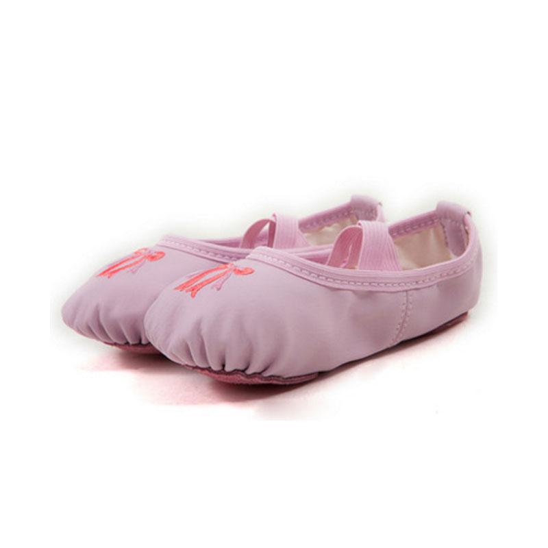 猫爪鞋瑜伽鞋形体鞋PU皮舞蹈鞋软底女练功鞋芭蕾舞鞋