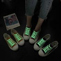 帆布鞋女学生时尚百搭夏季新款网红休闲单鞋chic潮流饼干鞋子