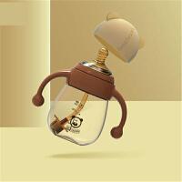 【支持礼品卡】奶瓶ppsu耐摔宽口径宝宝防胀气塑料新生婴儿奶瓶纳米银奶嘴 h7v