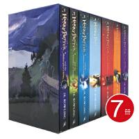 【首页抢券300-100】哈利波特全英版Harry Potter the Complete JK罗琳 7册套装 儿童高级