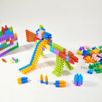 男孩大号头积木塑料拼插幼儿园早教男孩女3-6周岁4-7 早教益智玩具兼容乐高