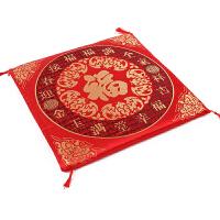 结婚用品加厚坐福垫婚庆大红色做垫新娘踩喜垫座垫敬茶拜天地跪垫