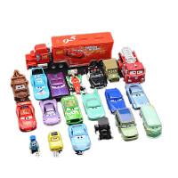 赛车 汽车总动员玩具车套装 闪电麦昆 板牙 飞弹 合金玩具车套装 二