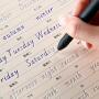 六品堂 英语字帖意大利斜体 凹槽英文练字帖手写体小学初中高中大学 硬笔书法练习练字贴钢笔