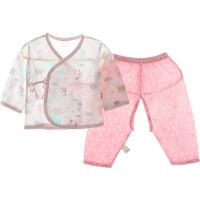 夏季婴儿薄款睡衣宝宝空调服