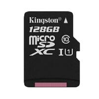 金士顿/Kingston TF卡 128G手机卡 Class10 存储卡UHS-I高速卡microSDXC内存卡