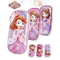 苏菲亚公主儿童文具盒女孩迪士尼小学生6-12周岁可爱女生铅笔盒