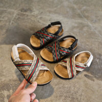 夏季儿童男童凉鞋女童防滑宝宝沙滩鞋