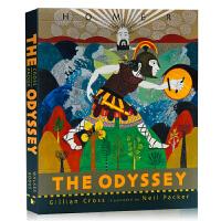 奥德赛 The Odyssey 英文原版文学小说 经典希腊神话史诗 西方古典文化 世界名著 青少年读物 彩色插图