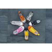 儿童布鞋板鞋涂鸦男童帆布鞋一脚蹬女童鞋宝宝鞋子春秋动物