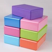 瑜伽砖高密度环保瑜珈砖头泡沫儿童舞蹈压腿练功砖专用软开砖