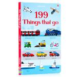 199种交通工具 199 Things that Go 英文原版绘本 儿童图文百科 儿童交通工具启蒙早教认知图画书 儿