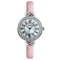 女士石英皮带手表防水个性小巧腕表时尚潮流水钻商务时装表