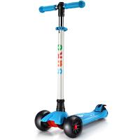 宝宝踏板车加宽大轮滑滑车儿童滑板车四轮闪光