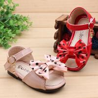 夏季婴幼儿鞋女童1-2岁3女宝宝凉鞋防滑软底公主学步鞋小童鞋子潮