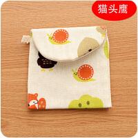 韩版可爱大容量卫生巾包旅行便携女生姨妈巾收纳包零钱包
