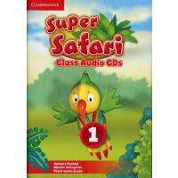 剑桥3-6岁幼儿英语 Cambridge Super Safari Class Audio CDs 课堂CD 1级