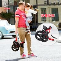 儿童三轮车脚踏车宝宝小孩自行车免充气