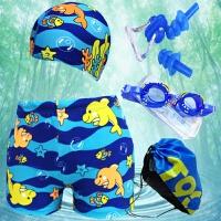 儿童泳裤男童小中大童泳衣平角泳裤卡通幼婴儿宝宝可爱泳裤