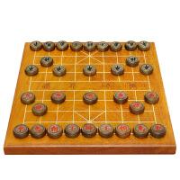 20180409115208947象棋盘黄鸡翅独木46mm中国象棋套装