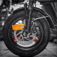 报警碟刹锁电动车锁自行车锁摩托车防盗锁山地车防水电瓶车锁
