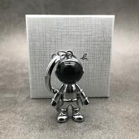 �W�t太空�C器人宇航�T��包��意�匙扣�旒�ins男汽��匙�圈 亮�y太空人 (�Y盒�b送小圈)