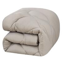 被子冬被加厚保暖被芯双人棉被单人学生宿舍空调被春秋被褥太空被 200x230cm 8斤