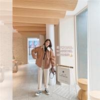 七格格工�b棉衣女冬季加厚2020年新款�n版�W生��松棉�\外套潮