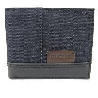 迪赛 DIESEL X01776-PS996-H4729 潮款牛仔布手拿包 深蓝色