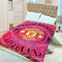 潮牌切尔西乔丹曼联巴塞罗那巴萨皇马足球球迷毛毯床单午睡空调毯