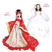 唐韵佳人和蔷薇新娘古今新娘娃娃组合节日礼物