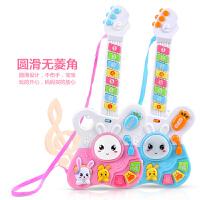 儿童吉他可弹奏男孩玩具尤克里里女孩迷你仿真初学者宝宝