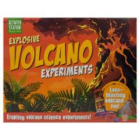 Activity Station Explosive Volcano Experiments 火山喷发实验手工套盒 儿