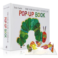 Eric Carle The Very Hungry Caterpillar Pop-Up Book 好饿的毛毛虫立体书 玩具书 能刺激天性好奇的孩子主动用眼去看,用手去动,用大脑去思考探索
