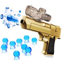 手动沙漠之鹰儿童玩具枪男孩手抢软弹发射吸水晶水蛋枪