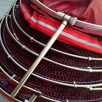 涂胶竞技渔户钓鱼渔具垂钓用品渔护黑坑鱼护袋装渔网网兜