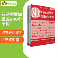 美国进口 原版教材 学乐 240 Vocabulary Words Kids Need to Know: Grade1