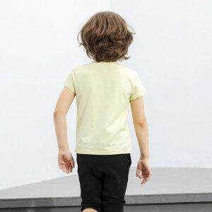 【尾品汇 5折直降】amii童装2017男童T恤短袖夏装棉质中大童儿童半袖新款男孩上衣